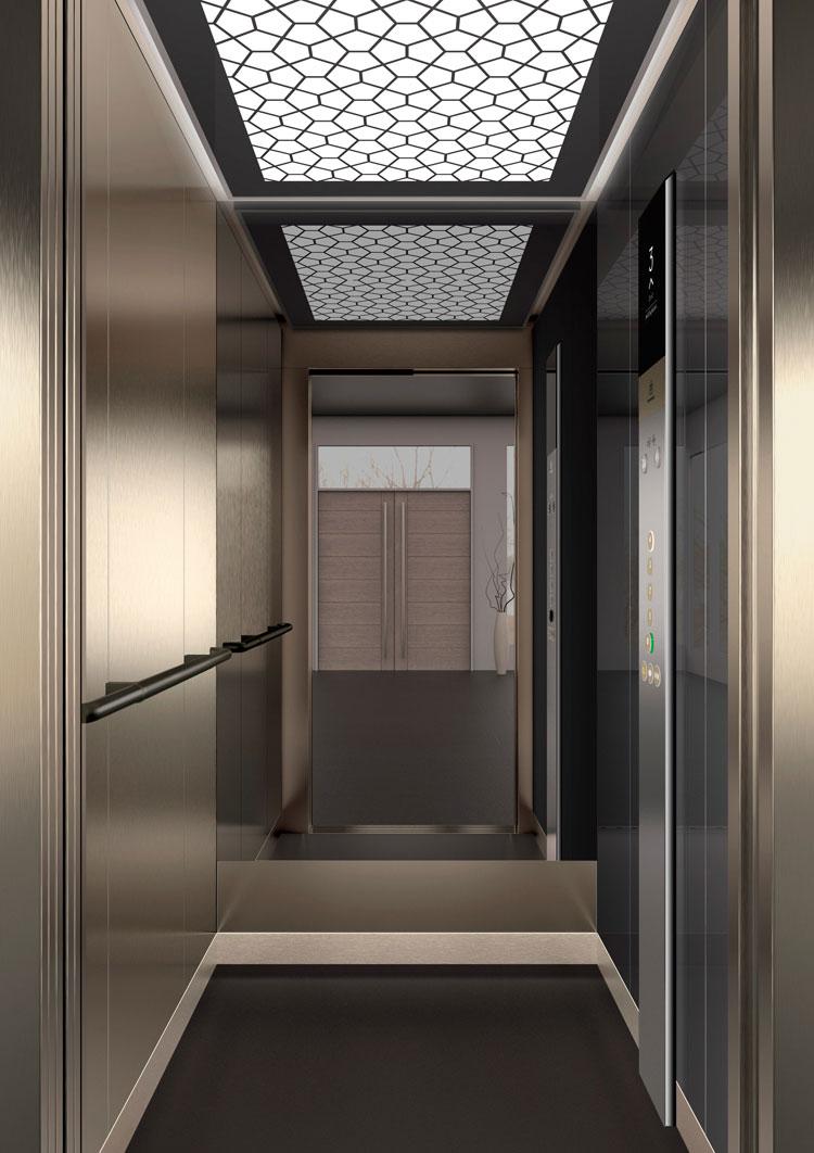 асансьор Synergy 200 - дизайнерска линия D - интериор 51
