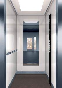асансьор Synergy 200 - дизайнерска линия E - интериор 1