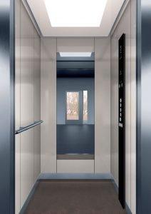 асансьор Synergy 200 - дизайнерска линия E - интериор 2