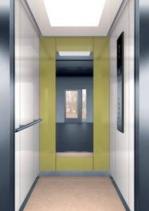 асансьор Synergy 200 - дизайнерска линия E - интериор 11