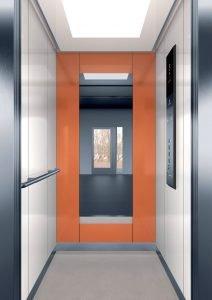 асансьор Synergy 200 - дизайнерска линия E - интериор 12