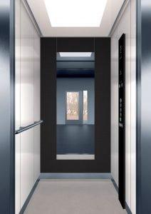 асансьор Synergy 200 - дизайнерска линия E - интериор 13