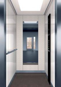 асансьор Synergy 200 - дизайнерска линия E - интериор 14
