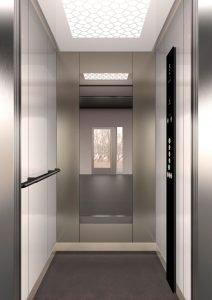 асансьор Synergy 200 - дизайнерска линия E - интериор 41