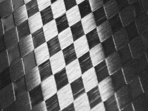 дизайн Stainless steel checks на стенен панел за асансьор Synergy 300