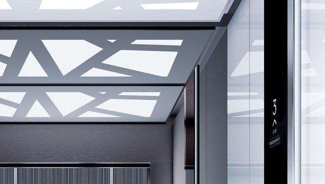 асансьор ThyssenKrupp Synergy 300 - интериор вариант 1