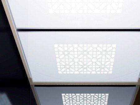 панел за таван асансьор ThyssenKrupp Synergy 300 серия B дизайн Agrabah