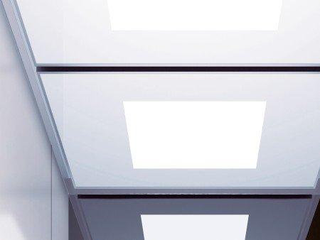 панел за таван асансьор ThyssenKrupp Synergy 300 серия B дизайн Lightbox