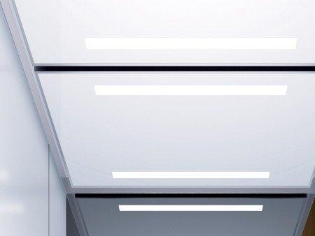 панел за таван асансьор ThyssenKrupp Synergy 300 серия B дизайн Rocket