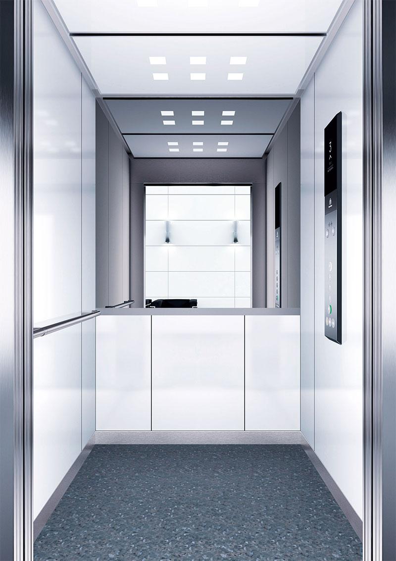 асансьор Synergy 300 готова интериорна кабина линия B01