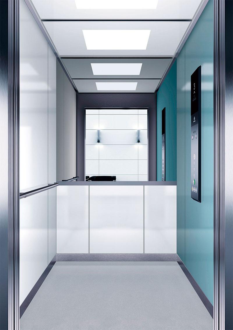 асансьор Synergy 300 готова интериорна кабина линия B02