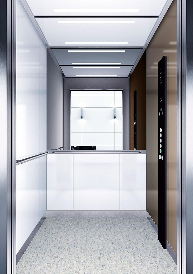 асансьор Synergy 300 готова интериорна кабина линия B03