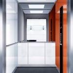 асансьор Synergy 300 готова интериорна кабина линия B05