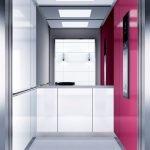 асансьор Synergy 300 готова интериорна кабина линия B06