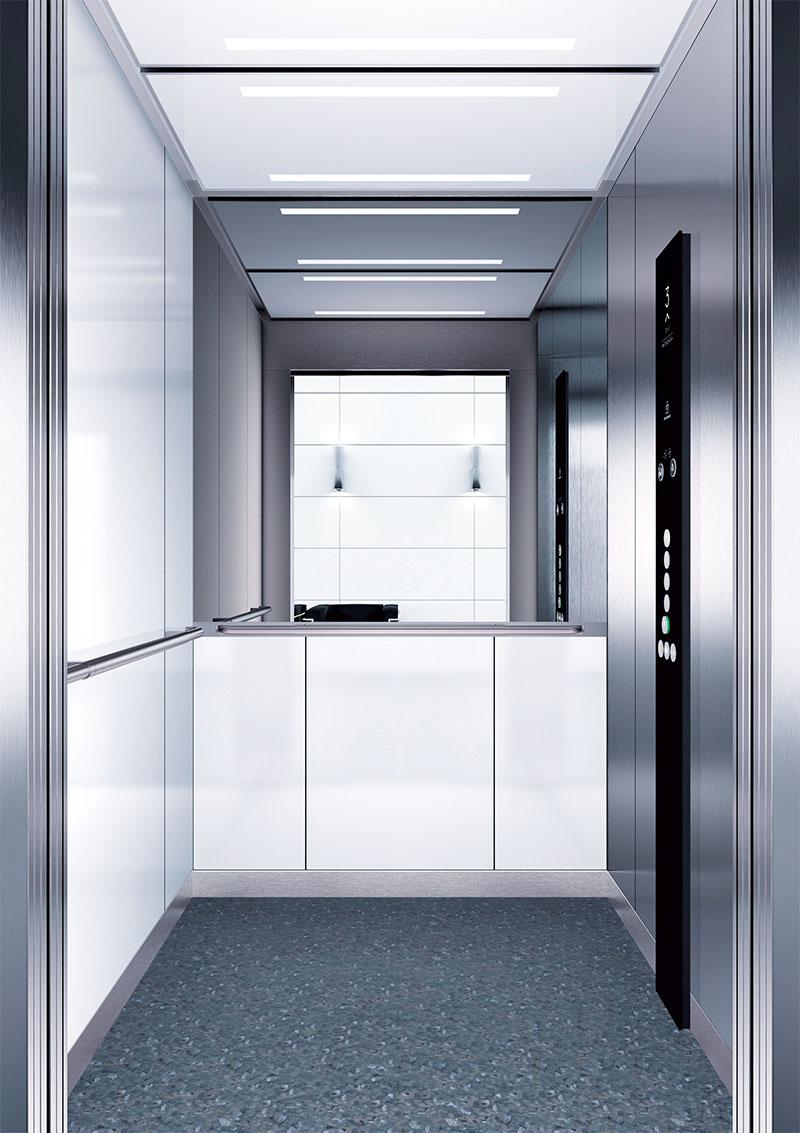 асансьор Synergy 300 готова интериорна кабина линия B07