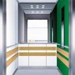асансьор Synergy 300 готова интериорна кабина линия B10