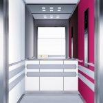 асансьор Synergy 300 готова интериорна кабина линия B12
