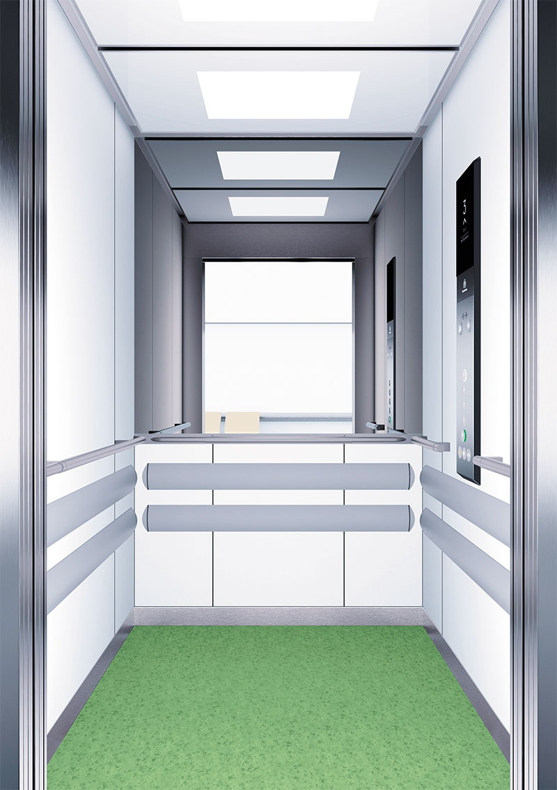 асансьор Synergy 300 готова интериорна кабина линия B13