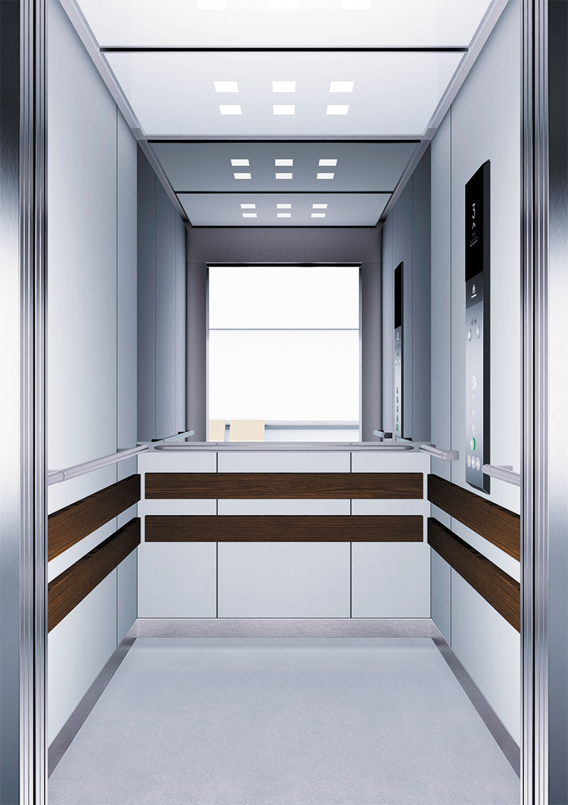 асансьор Synergy 300 готова интериорна кабина линия B14