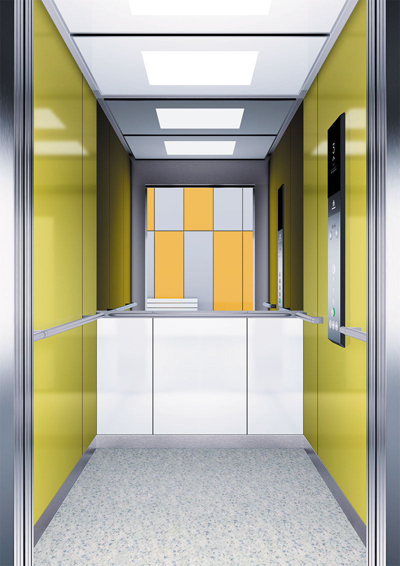 асансьор Synergy 300 готова интериорна кабина линия B20