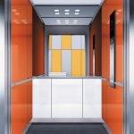 асансьор Synergy 300 готова интериорна кабина линия B21