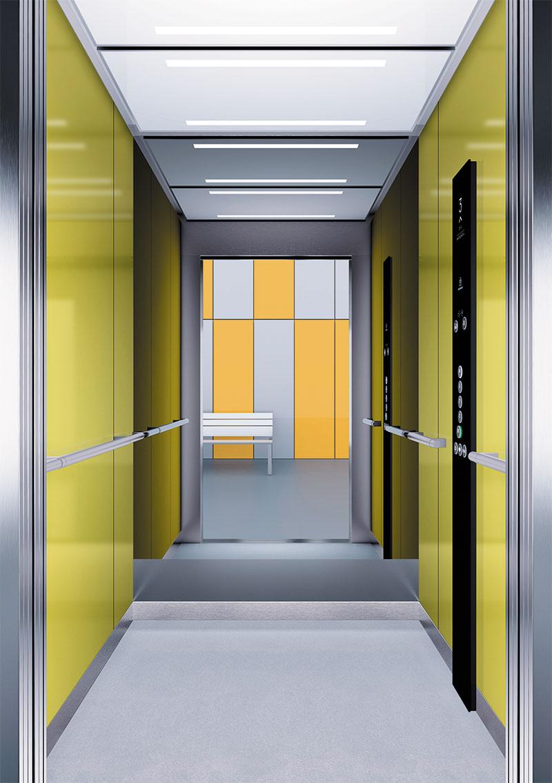 асансьор Synergy 300 готова интериорна кабина линия B23