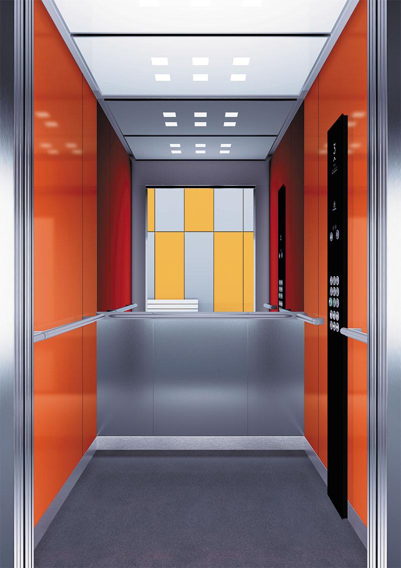 асансьор Synergy 300 готова интериорна кабина линия B24