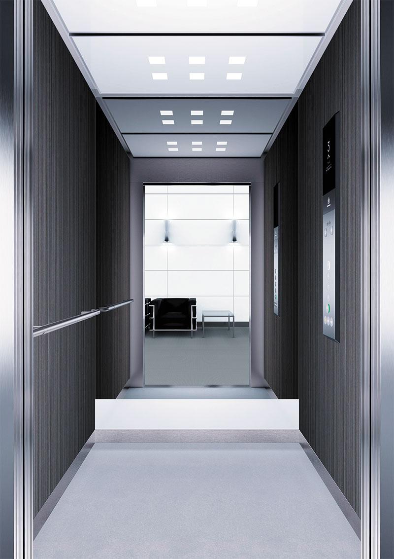 асансьор Synergy 300 готова интериорна кабина линия B35