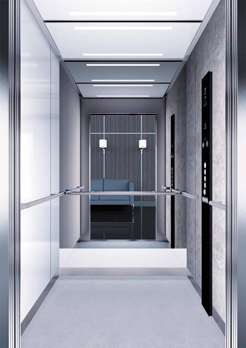 асансьор Synergy 300 готова интериорна кабина линия B41