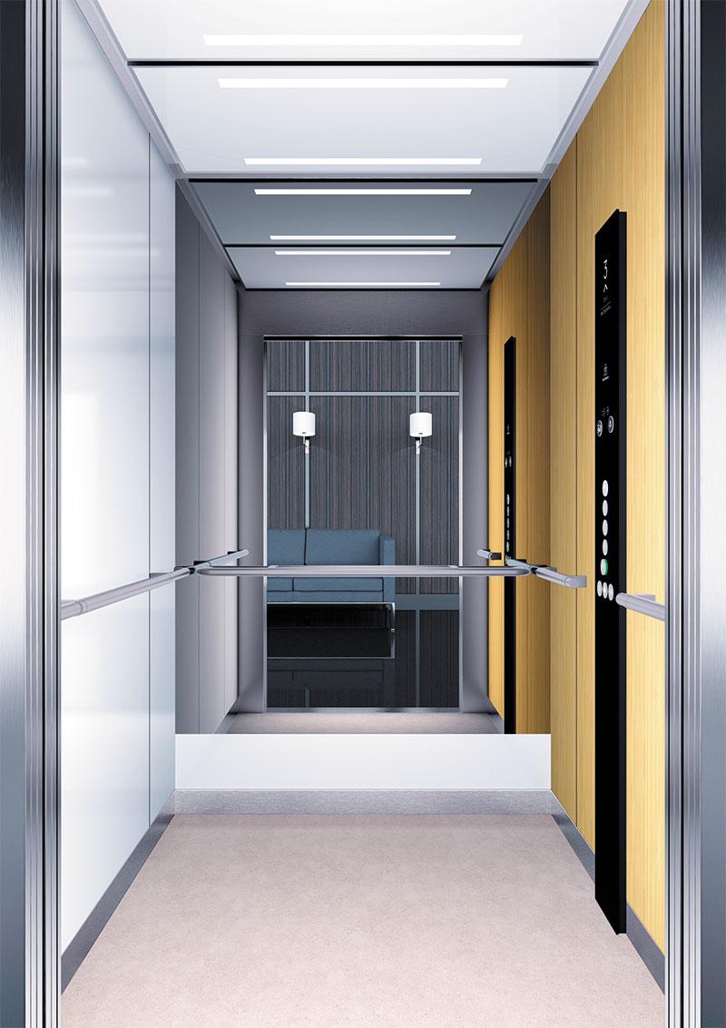 асансьор Synergy 300 готова интериорна кабина линия B42