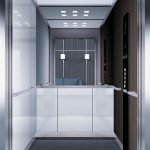 асансьор Synergy 300 готова интериорна кабина линия B43