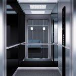 асансьор Synergy 300 готова интериорна кабина линия B44