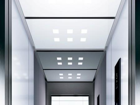 дизайн на таван Grille на асансьорна кабина Evolution 100 линия C