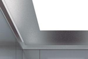 таван за кабина на асансьор ThyssenKrupp Synergy 100 със стоманена LED кутия устойчива на вандализъм