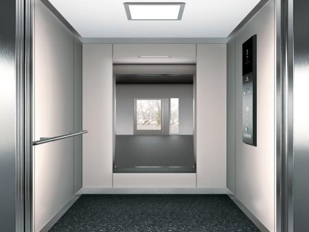 дизайн на таван LED Lighting Plate на асансьорна кабина Synergy 200 линия E