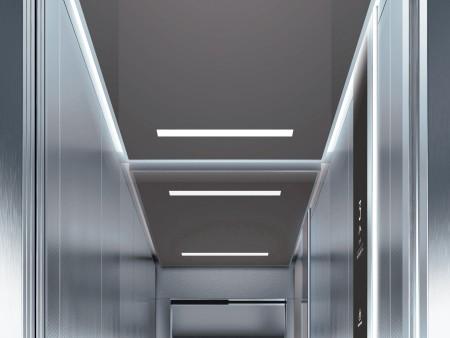 дизайн на таван Rocket на асансьорна кабина Synergy 200