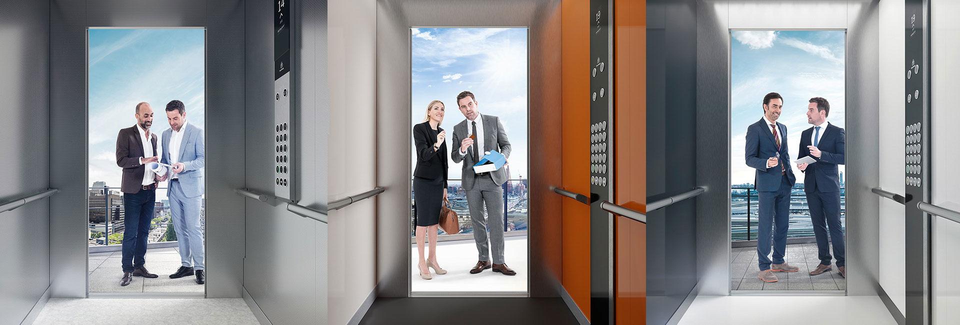 серията асансьори ThyssenKrupp Evolution корица