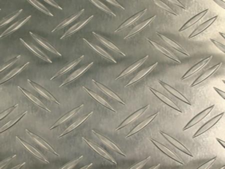 подова настилка за кабините на асансьор Evolution 100 - цвят Checker Plate Aluminum