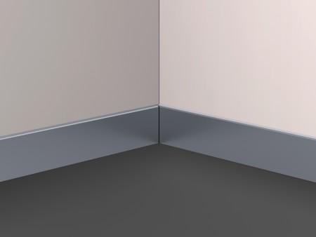 перваз за кабините на асансьор Synergy 200 - цвят сребрист
