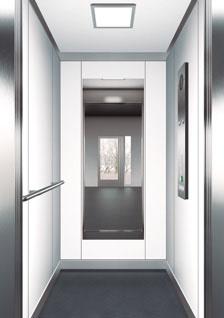 асансьор ThyssenKrupp Synergy 100 дизайн на кабина F20