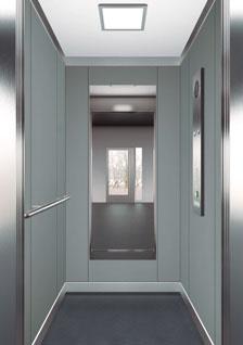 асансьор ThyssenKrupp Synergy 100 дизайн на кабина F21