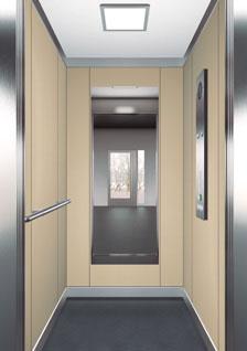 асансьор ThyssenKrupp Synergy 100 дизайн на кабина F22