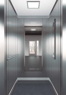 асансьор ThyssenKrupp Synergy 100 дизайн на кабина F23