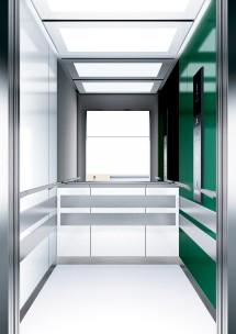 A10 дизайн на асансьорна кабина ThyssenKrupp Evolution 200
