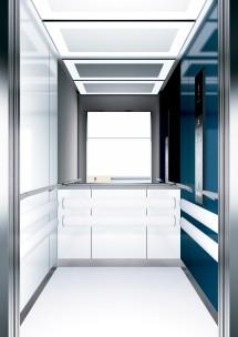 A11 дизайн на асансьорна кабина ThyssenKrupp Evolution 200