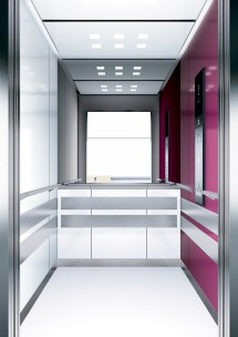 A12 дизайн на асансьорна кабина ThyssenKrupp Evolution 200
