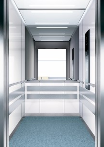 A13 дизайн на асансьорна кабина ThyssenKrupp Evolution 200
