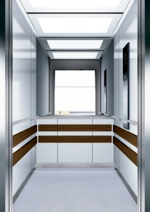 A14 дизайн на асансьорна кабина ThyssenKrupp Evolution 200