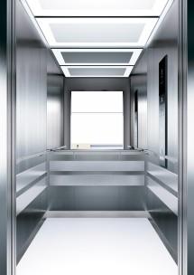 A15 дизайн на асансьорна кабина ThyssenKrupp Evolution 200
