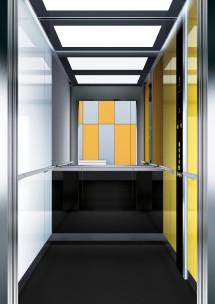 A20 дизайн на асансьорна кабина ThyssenKrupp Evolution 200